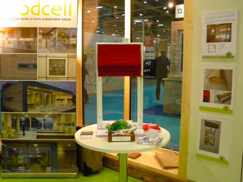 Thermal blinds on the Modcell Stand