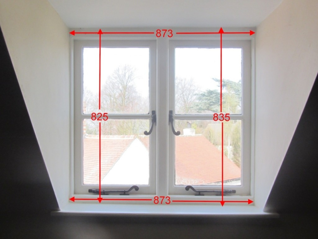 Measurements needed for non-sash windows
