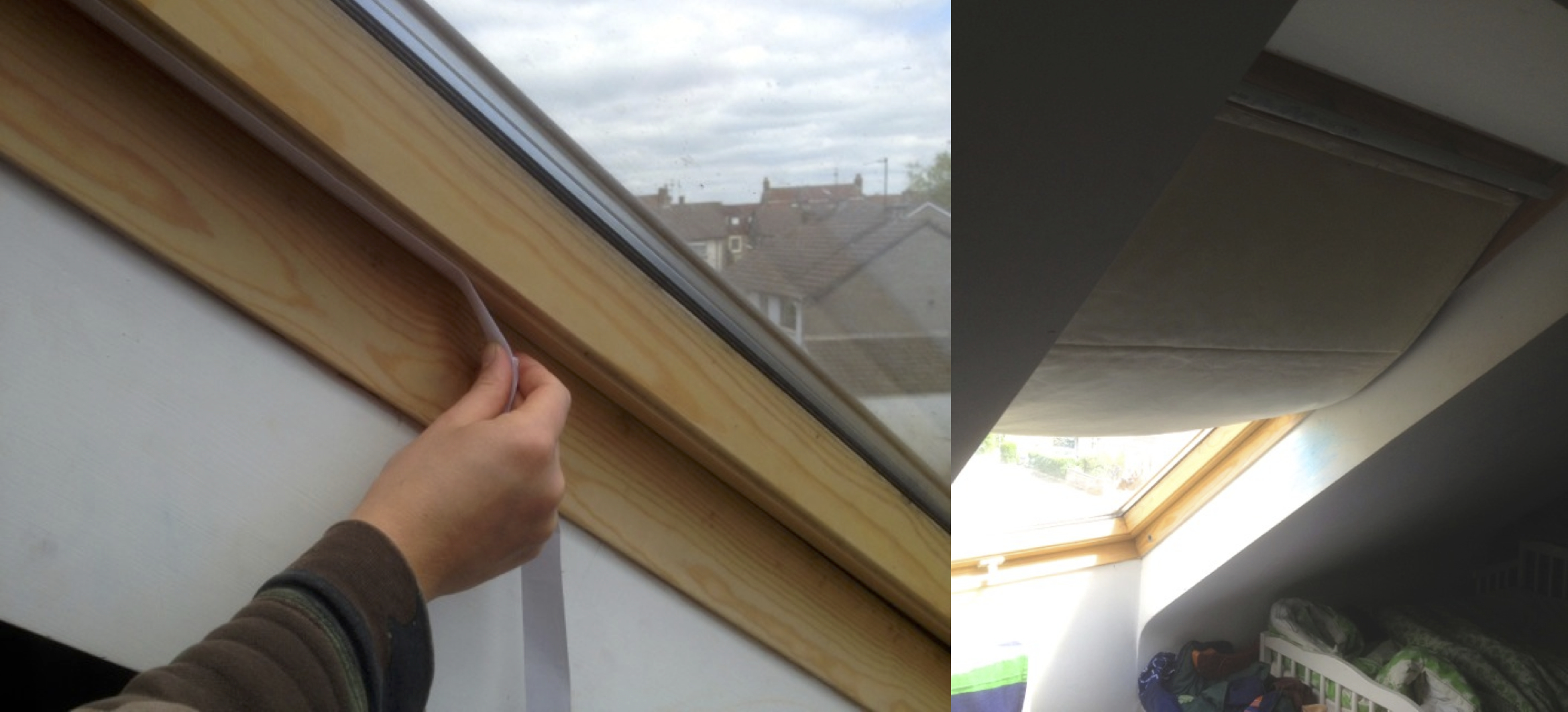 New ingenious blind types the thermal blind co for Velux window shades