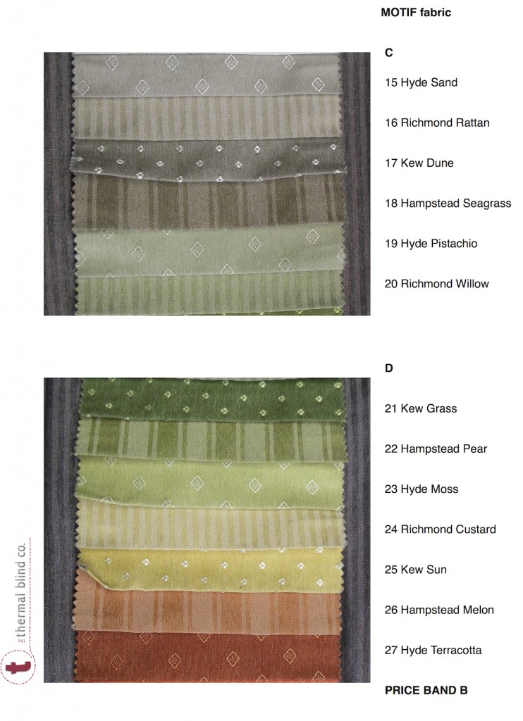 Fabric Details Thermal Roman Blinds Save Energy The